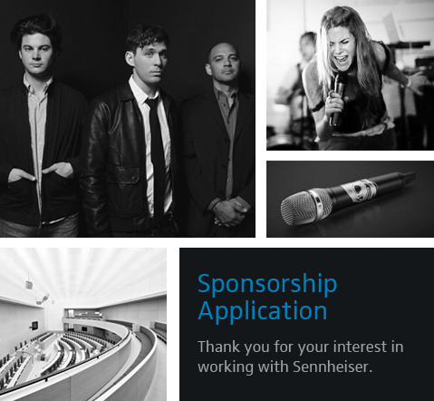 sponsorship application
